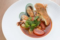 Thai seafood Royalty Free Stock Photography