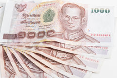 thai sedel arkivbild