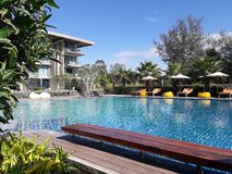 thai semesterort arkivfoton