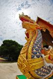 Thai serpent statue Royalty Free Stock Images