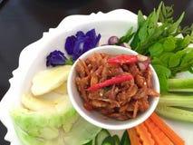 Thai Shrimp chili paste Stock Images