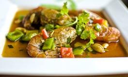 Thai Shrimp curry Royalty Free Stock Photo