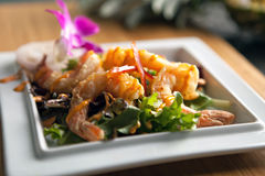 Thai Shrimp Dish Royalty Free Stock Image