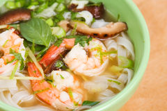 Thai Shrimp Soup Royalty Free Stock Photography
