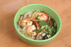 Thai Shrimp Soup Stock Photos