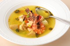 Thai Shrimp Soup Royalty Free Stock Photos