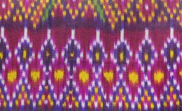 Thai siam fabric silk Full color pattern texture. Background stock photography