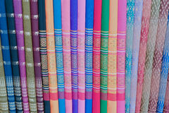 Thai Silk Stock Photo