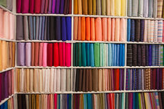 Thai silk Stock Photos
