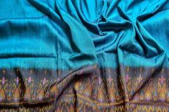thai silk Arkivfoton