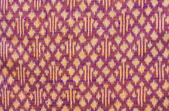 Thai silk art pattern Stock Photos