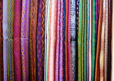 Thai silk. Background Royalty Free Stock Images