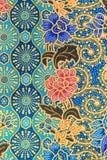 Thai silk Pattern of Thailand handmade Royalty Free Stock Photography
