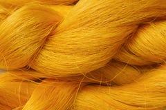 Thai silk background ,silk thread Stock Images