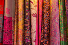 Thai silk Stock Image