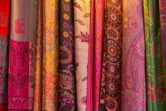 Thai silk. Is beautiful which make silk worm stock image
