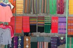 Thai silk cloth Royalty Free Stock Image