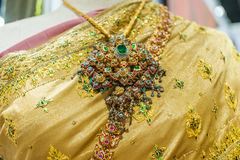 Thai silk clothes Royalty Free Stock Images