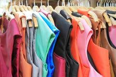 Thai silk clothes Stock Images