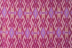 Thai silk fabric. Stock Photos