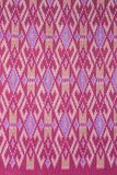 Thai silk fabric . Royalty Free Stock Photography
