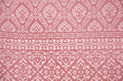 Thai silk fabric background Stock Photography