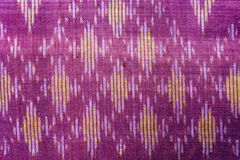 Thai silk fabric pattern Royalty Free Stock Photography