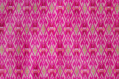 Thai silk fabric Stock Photography