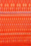 Thai silk fabric. Pattern background royalty free stock images