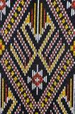 Thai silk fabric pattern background. Beautiful thai silk fabric pattern background Stock Photography