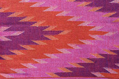 Thai silk fabric pattern Stock Images