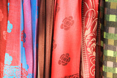 Thai silk fabric Royalty Free Stock Image