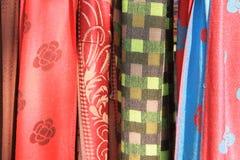 Thai silk fabric Stock Photography