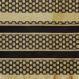 Thai silk fabric texture with floral pattern Royalty Free Stock Photo