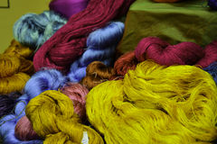 Thai Silk Royalty Free Stock Image