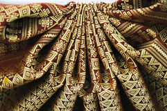 Thai Silk pattern Royalty Free Stock Images