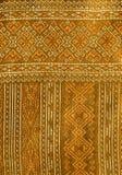 Thai silk pattern Royalty Free Stock Photo