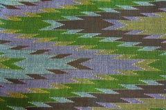 Thai silk. Pattern of thai silk fabric background royalty free stock image