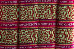 Thai silk screen. For background stock photo