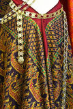 Thai silk. Royalty Free Stock Images