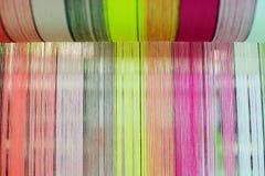 Thai silk tube Stock Photos