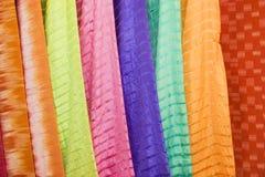 Thai Silks Royalty Free Stock Image