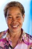 Thai silkworm farmer Stock Photo