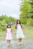 Thai sisters Royalty Free Stock Photo