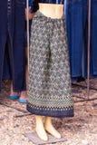 Thai skirt mannequins woman asia Stock Photo