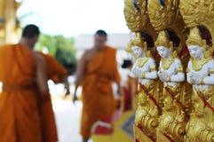 thai skulptur Royaltyfri Fotografi