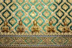thai skulptur Arkivbild
