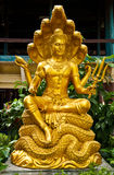 thai skulptur Royaltyfria Bilder