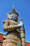 thai skulptur Arkivbilder