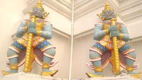 thai skulptur Arkivfoto